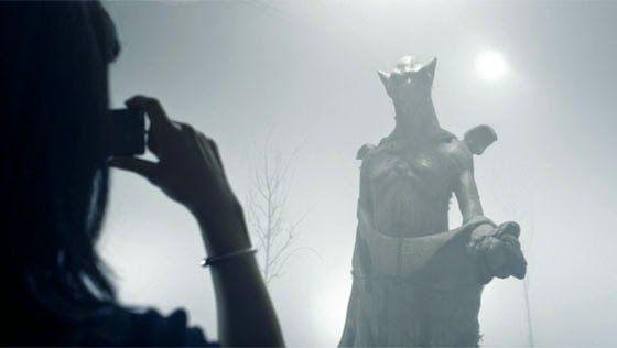 the shrine statue